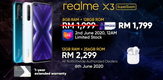 realme X3 SuperZoom from RM1,799