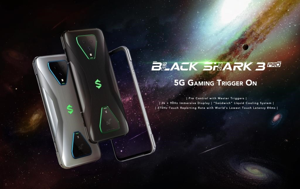 Black Shark 3 Pro & Black Shark Bluetooth Earphones 2 now ...