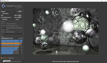 ASUS ExpertBook B9450 Cinebench R15