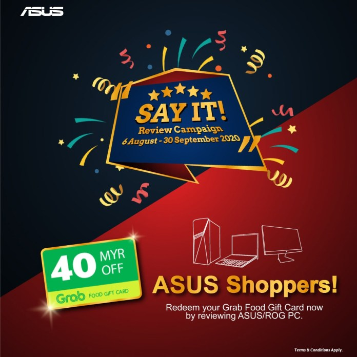 ASUS Say It! Campaign