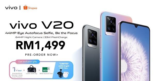 Vivo V20 Shopee Promo