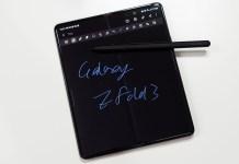 Samsung Galaxy Z Fold3 5G Flip Cover with Pen