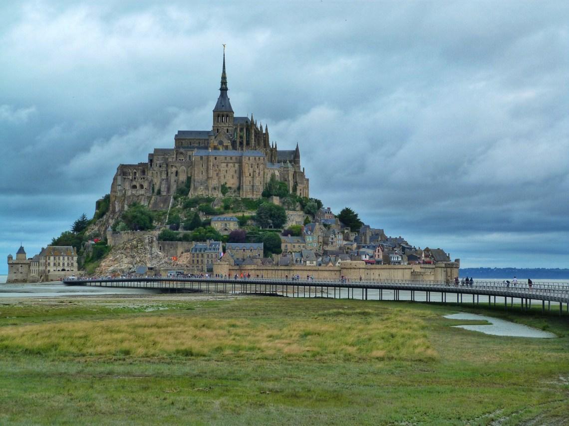 Mont Saint Michel Normandy France Fransa