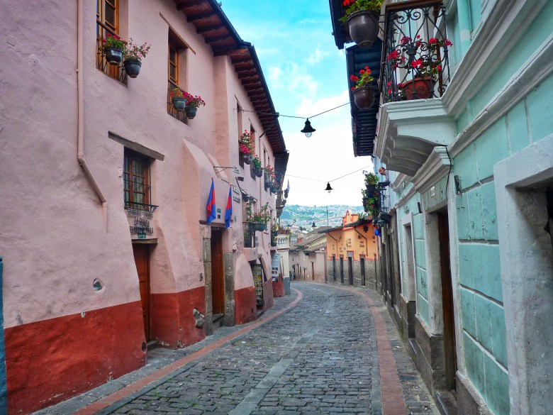 Calle La Ronda Quito Ecuador