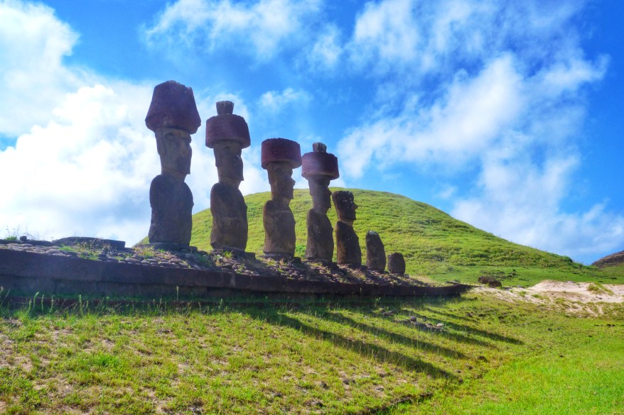 Paskalya Adasi Easter Island Şili Gezi Chile