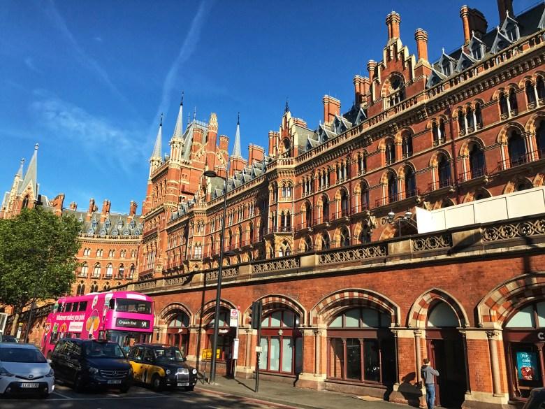 st pancras and kings cross istasyonu Londra