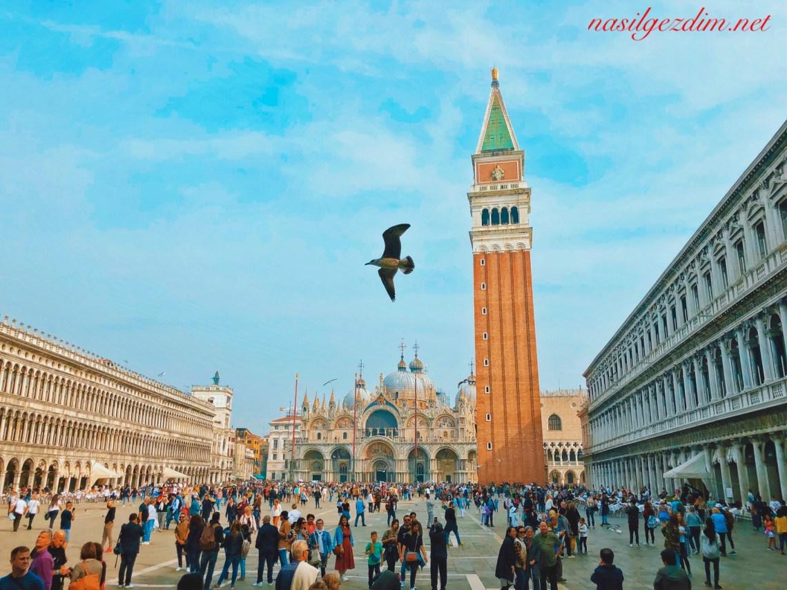 venedik gezi rehberi, venedik gezilecek yerler, venedik gezisi, nasil gezdim, nasilgezdim, St. Mark's Square