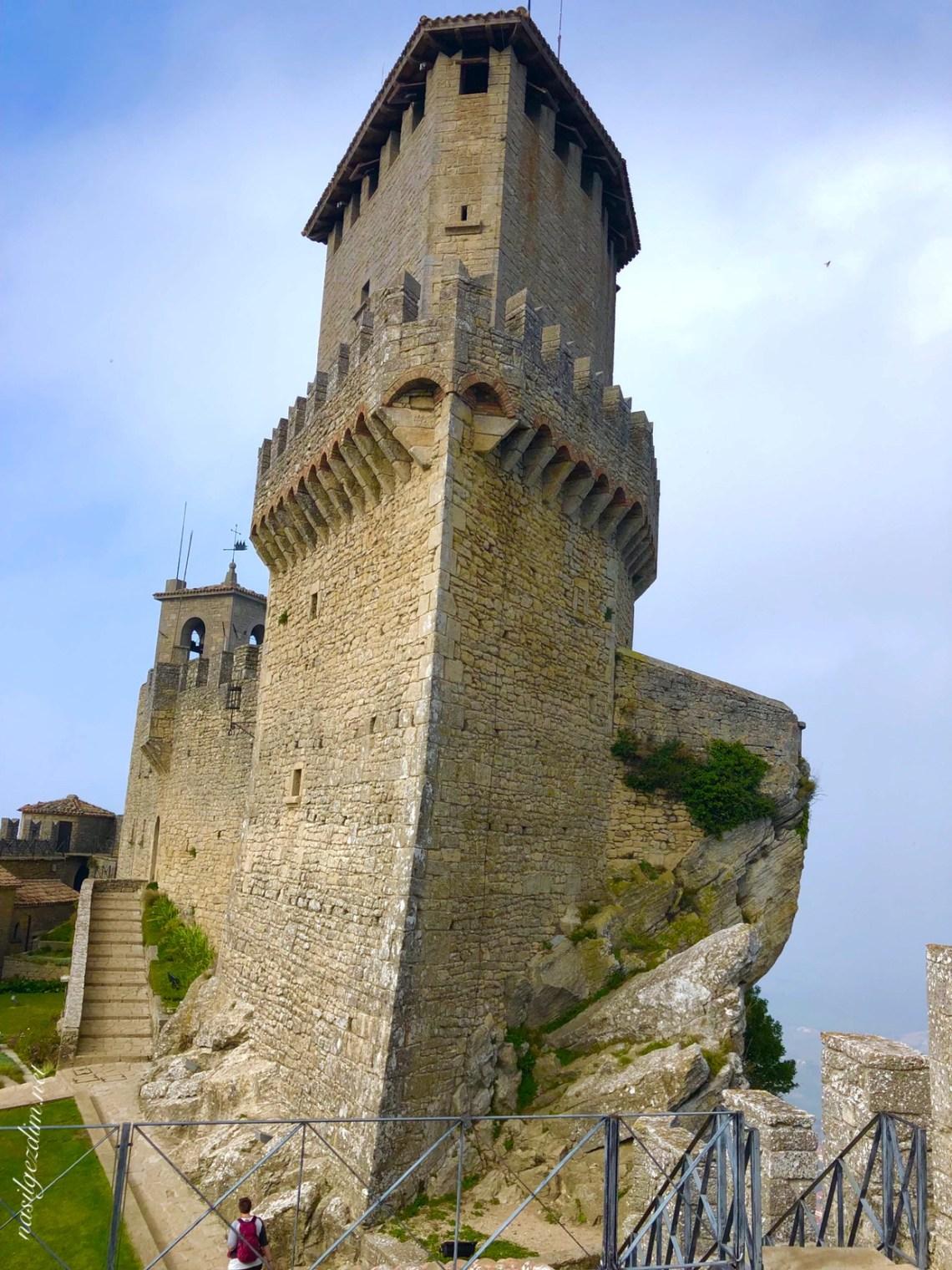 san marino gezilecek yerler, san marino gezi rehberi, san marino nerede, san marino gez notları, San Marino Guiata Kulesi