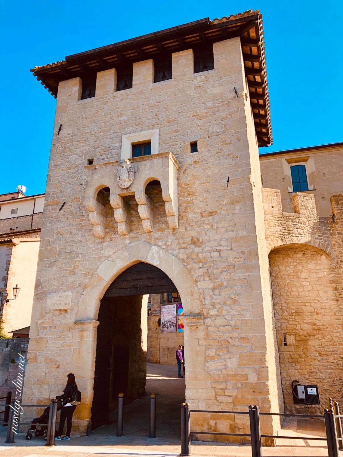 san marino gezilecek yerler, san marino gezi rehberi, san marino nerede, san marino gez notları, San Marino Porta Del Loco