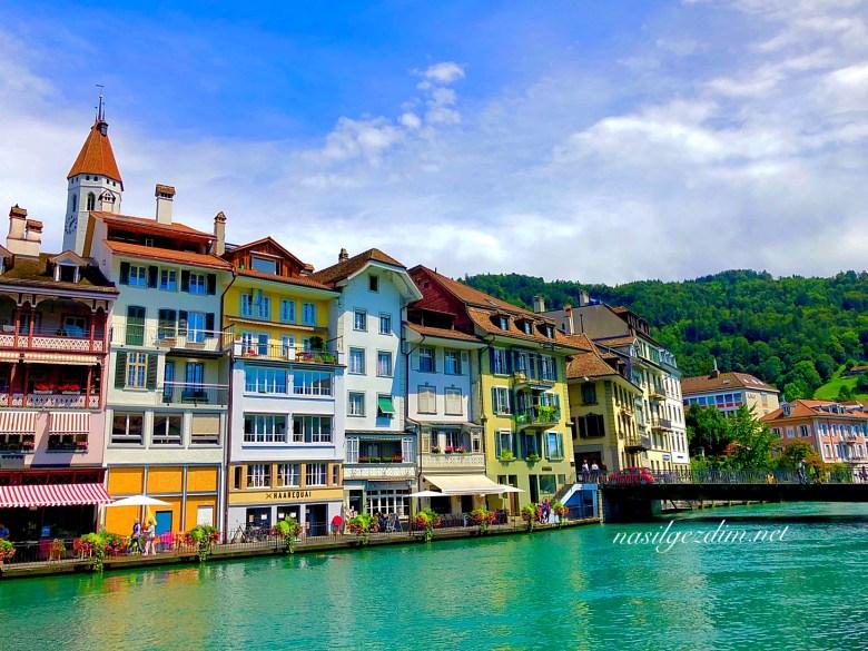 thun gezi rehberi, isvicre gezisi, thun gezilecek yerler, isvicrede gezilecek yerler