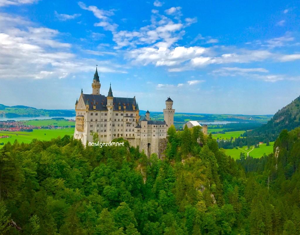 würzburg gezi rehberi, neuschwanstein şatosu, romantik yol, romantik yol rotası, romantik yol nedir