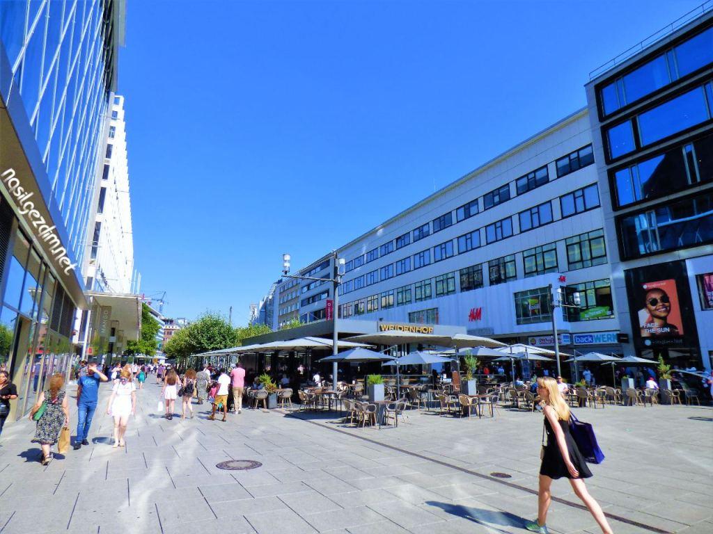 frankfurt gezilecek yerler, zeil, zeil caddesi, zeil street