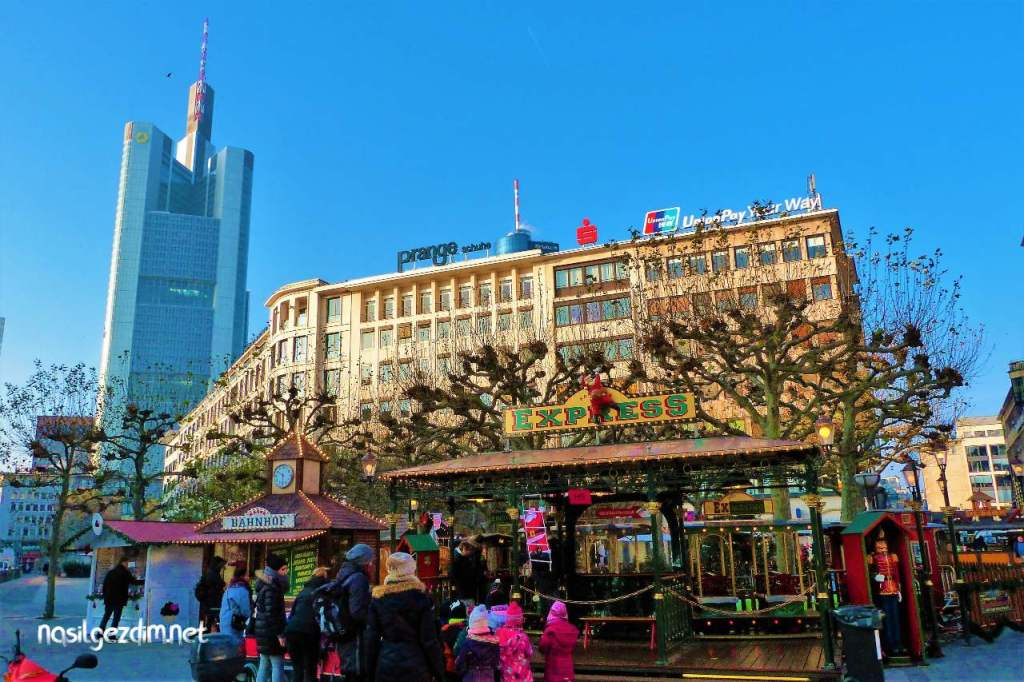 frankfurt noel pazarları