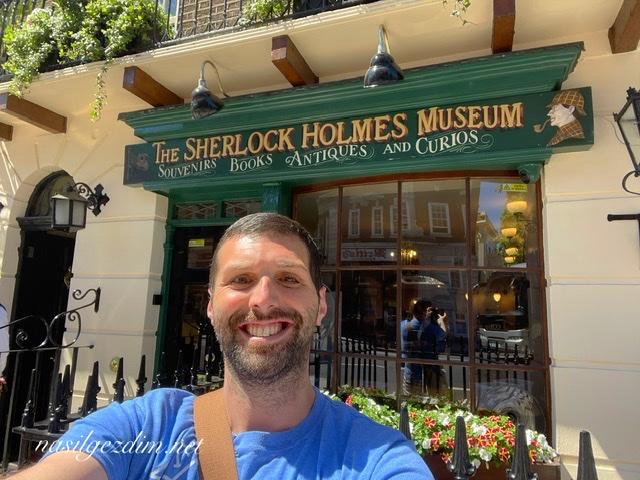 sherlock holmes müzesi, sherlock holmes müzesi gezi notları, 221b baker sokağı, sherlock holmes evi, nasilgezdim, nasil gezdim
