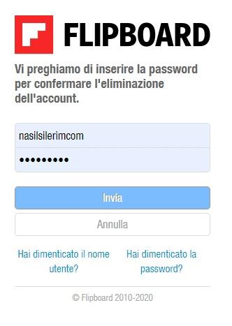 Come Eliminare Un Account Flipboard