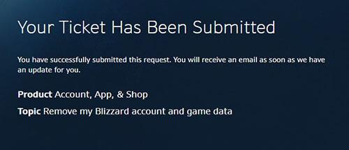 Come chiudere l'account Blizzard