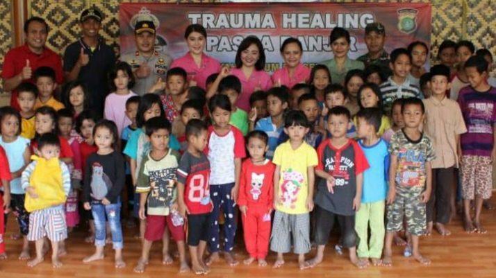 Trauma healing Bhayakari Polsek Jatiuwung