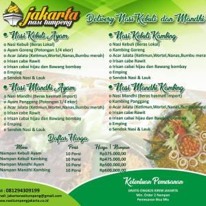 Pesan Nasi Kebuli Jakarta