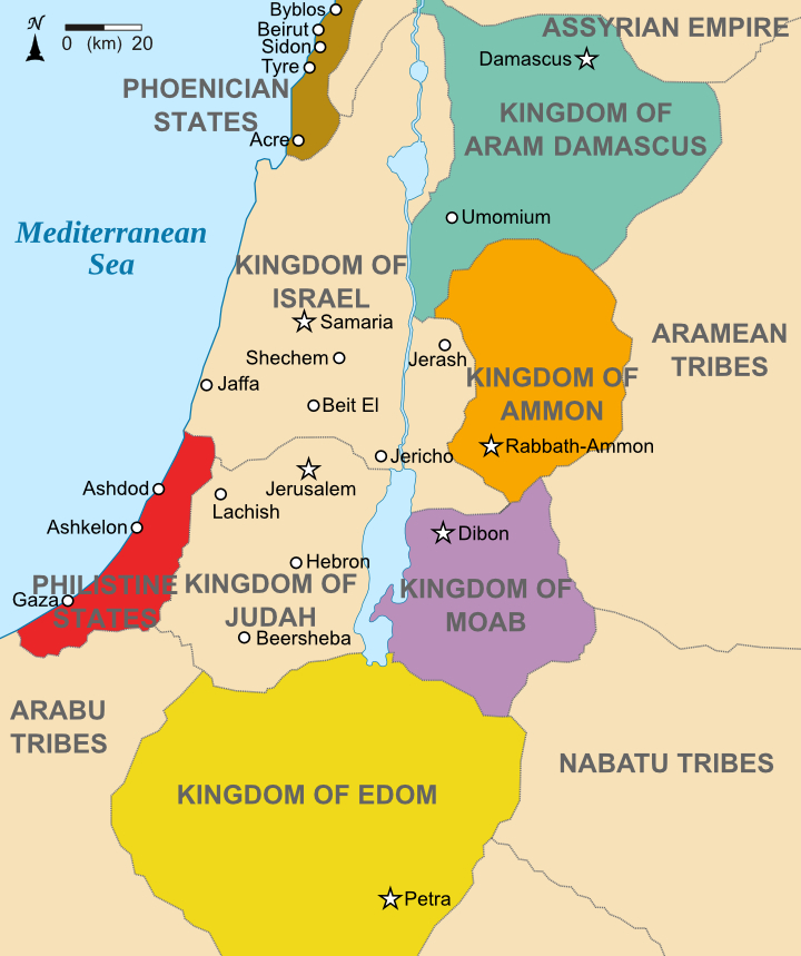 nations around ancient israel