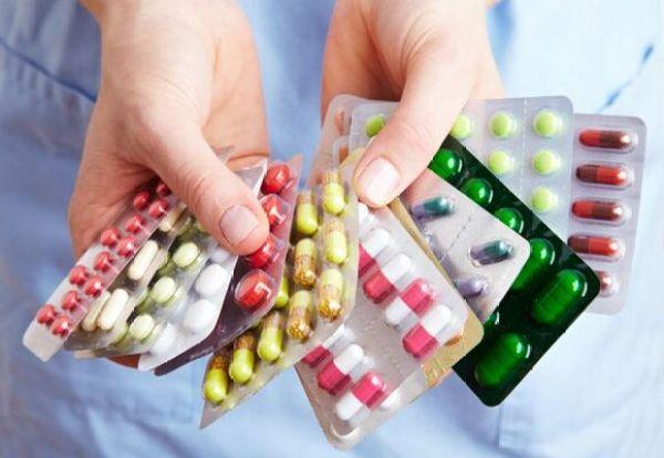 Антибиотики назначают в виде таблеток