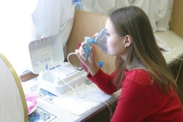 Процедура ингаляции с паровым игнгалятором