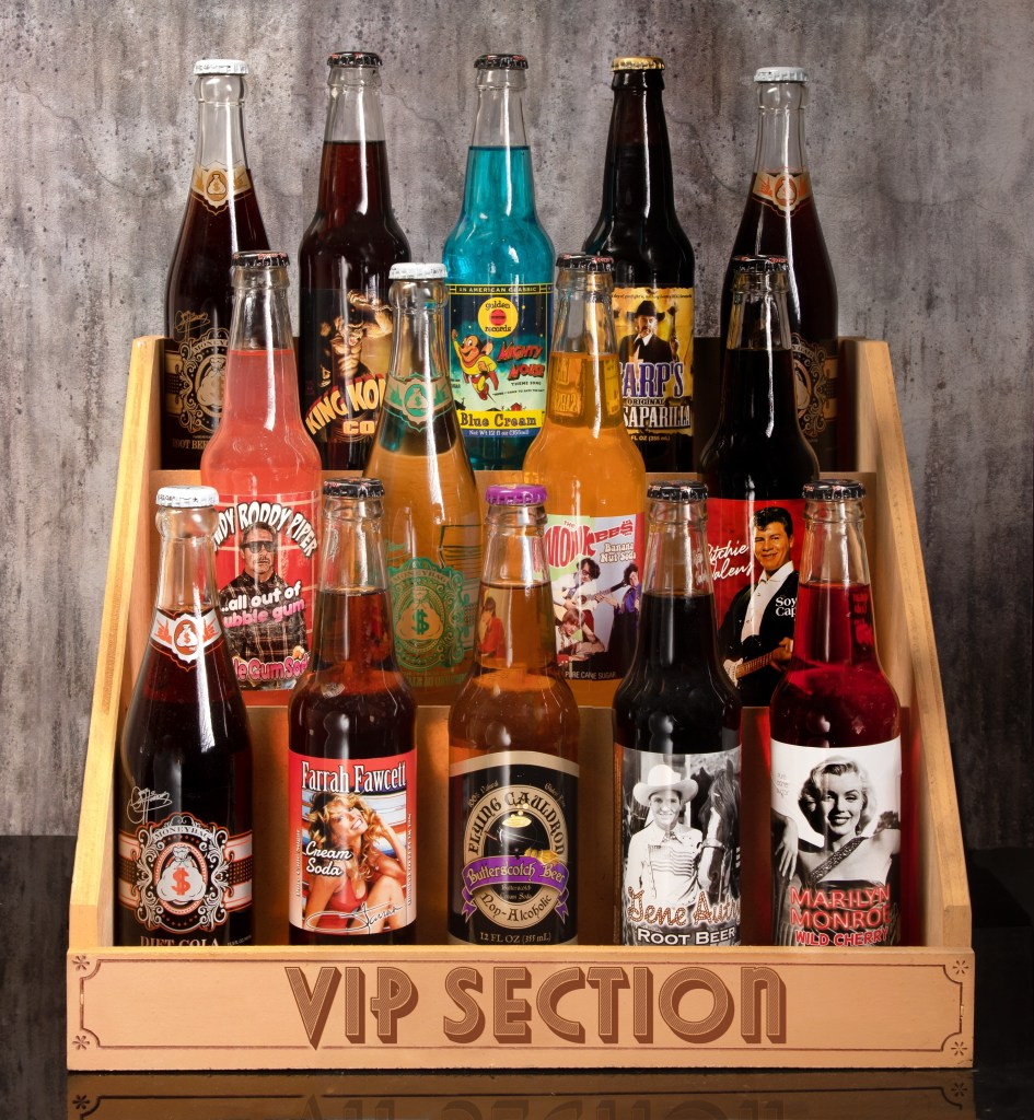 Celebrity Inspired Sodas and Celebrity Brands