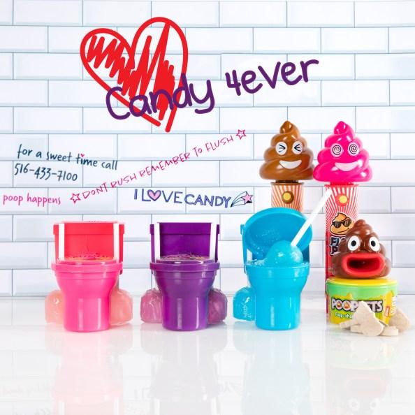 Candy toilet, novelty candy, TikTok Candy, TikTok food videos, TikTik videos, poop emoji, super visual candy
