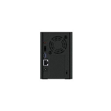 Buffalo LinkStation 520 LS520DE-EU 2-Bay NAS (1.0GHz Dual-Core, DDR3 256MB) Schwarz - 6