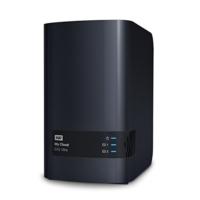 WD My Cloud EX2 Ultra Leergehäuse - Network Attached Storage - 2 Bay NAS - Streamen auf PC, Mobilgeräte, Spielkonsolen, Mediaplayer - WDBVBZ0000NCH-EESN - 2