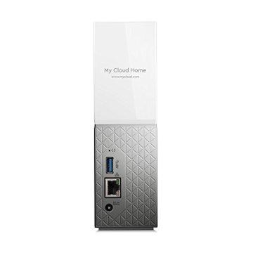 WD My Cloud Home 4 TB - Persönlicher Cloudspeicher - externe Festplatte – WLAN, USB 3.0, zentrales Speichern, Videostreaming - WDBVXC0040HWT-EESN - 3