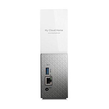 WD My Cloud Home 4 TB - Persönlicher Cloudspeicher - externe Festplatte – WLAN, USB 3.0, zentrales Speichern, Videostreaming - WDBVXC0040HWT-EESN - 7