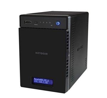 NETGEAR RN214D42-100NES 214 D-Disc NAS-System 8TB - 10