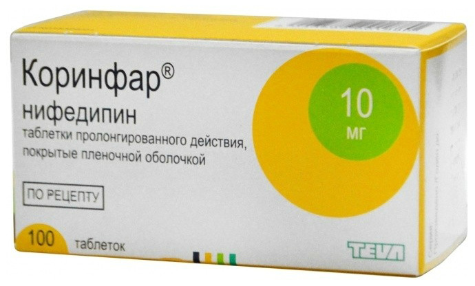 nifedipino hipertenzija