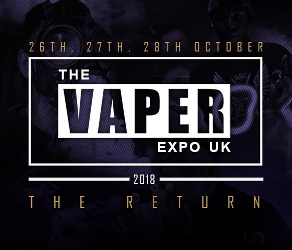 The Vaper Expo UK Returns