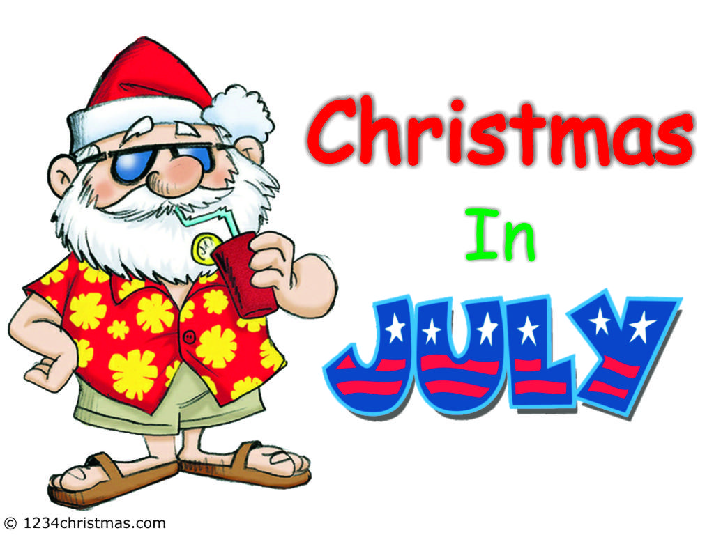 hight resolution of christmas in july images
