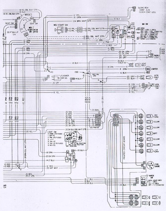 1973 camaro wiring diagram  description wiring diagrams