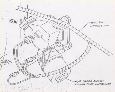 Wiper Motor Wiring Diagram Chevrolet : 36 Wiring Diagram