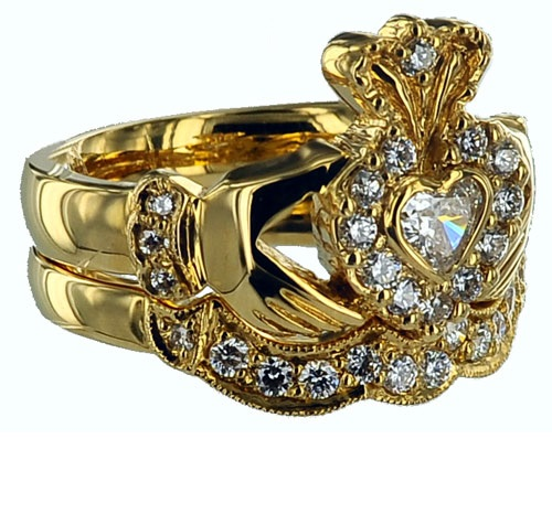 Symbolic Claddagh ring