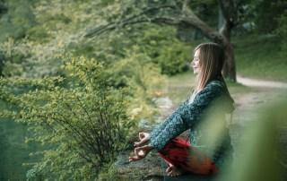 meditating-by-the-lake
