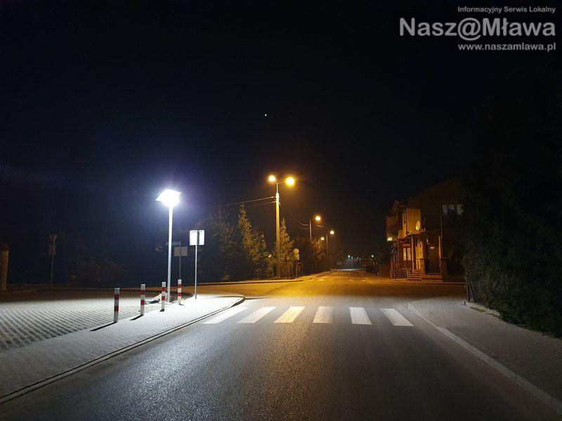 Miasto testuje nowe lampy