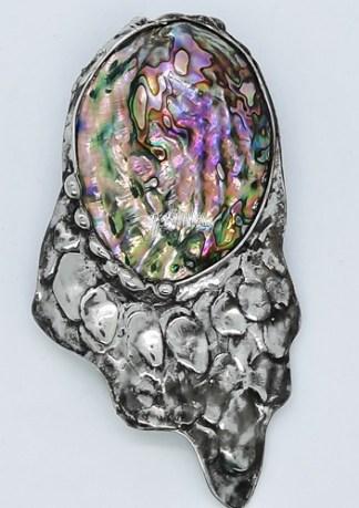muszla abalone wisior