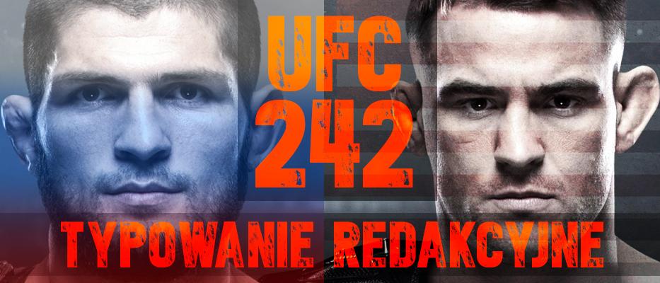 Typowanie UFC 242