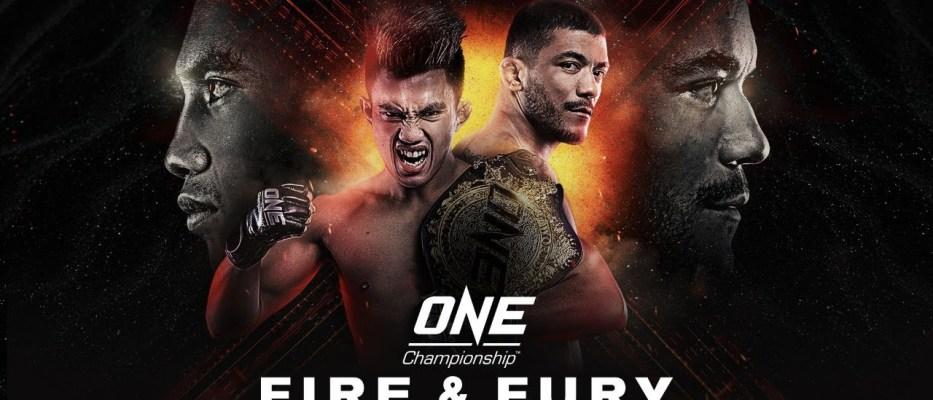 ONE Championship 107: Fire & Fury-wyniki