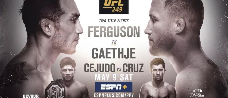 zapowiedź UFC 249