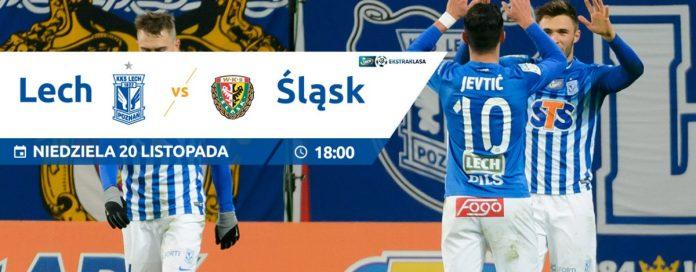Lech Poznań - Śląsk Wrocław - banner meczowy