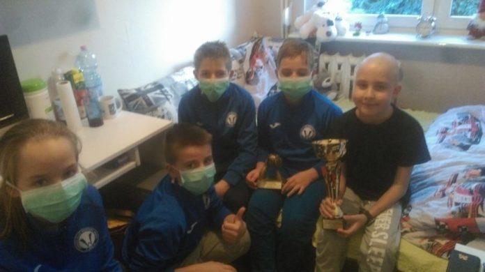Zwycięstwo Młodzików Warty Śrem zadedykowane choremu koledze