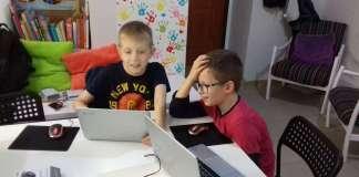 Świąteczne gry komputerowe napisane przez dzieci w śremskiej Gadule