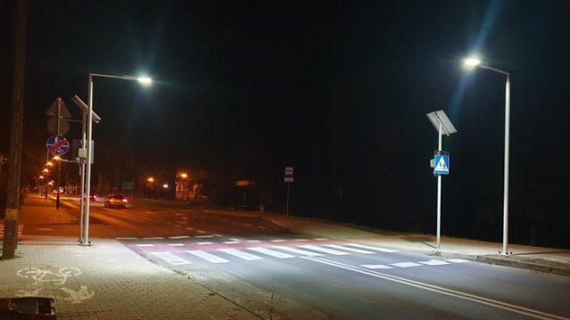 Nowe Miejsca Oświetlenia Led Przejść Dla Pieszych W śremie