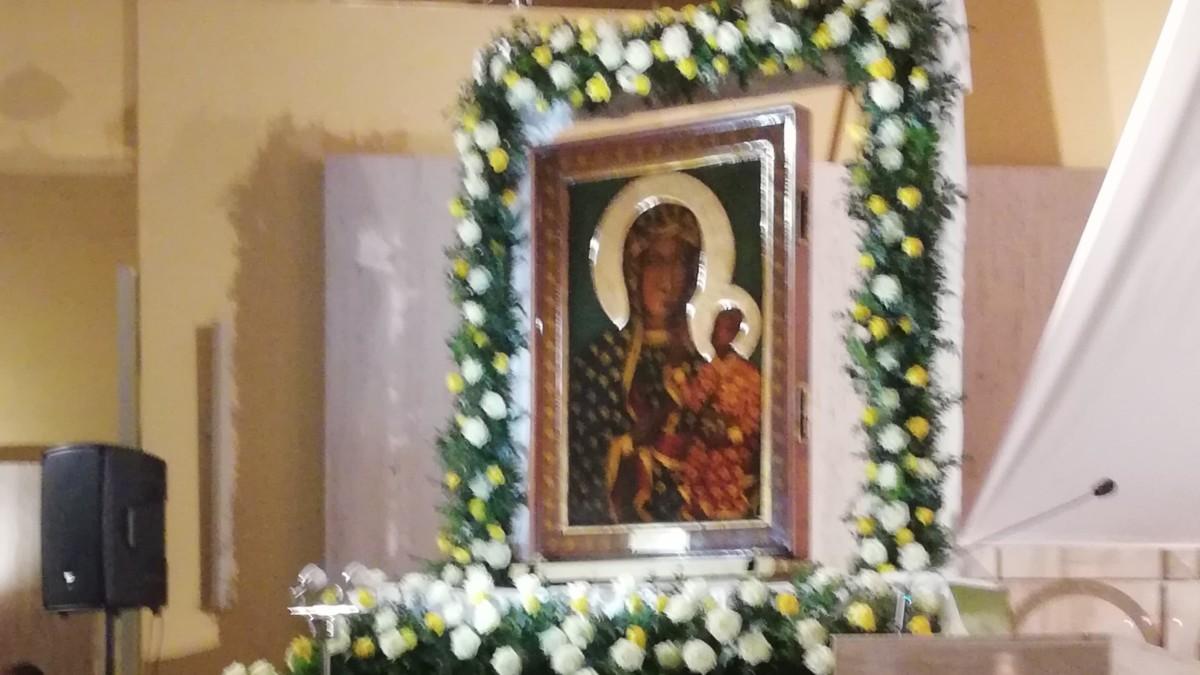 Obraz Matki Bożej Częstochowskiej jest już w Parafii NSJ w Śremie