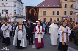 Kopia obrazu Matki Bożej przywitana w Śremie (foto. Szymon Mądry www.szymonmadry.pl)